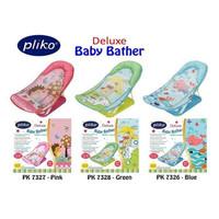 Pliko Deluxe Baby Bather Bak Tempat Mandi Bayi - Hijau