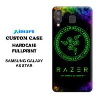 Custom Case Samsung Galaxy A8 Star Hardcase Desain Bebas
