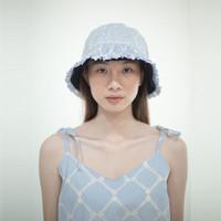 Blue Batik Bucket Hat