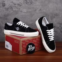 Sepatu Vans Style SID DX Anaheim Factory OG Black White Hitam Putih