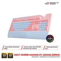 Keyborad Gaming ASUS ROG STRIX FLARE PINK