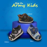 Slip On Army Kids AF11
