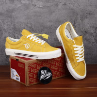 Sepatu Vans Style SID DX Anaheim Factory OG Yellow Gold White BNIB