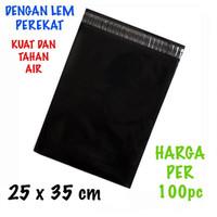 Kantong Plastik Lem Polymailer Ukuran 25x35 cm 100 Pcs