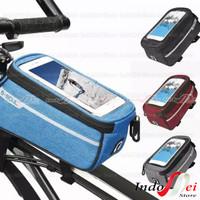 B-SOUL Mobil Phone Bag HP Holder for Bika Tas HP untuk Sepeda