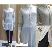 Fashion Wanita Baju Atasan Muslim RINA Tunik - FELIX&BRYANT