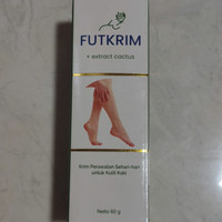 Futkrim + ekstrak kaktus - cream kaki pecah-pecah - krim melembabkan