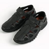 Sepatu Sandal Pria Kulit Asli Original Handmade Breathable Moralist305