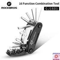 ROCKBROS GJ1601 16 in 1 Repair Tool Kit Peralatan Reparasi Sepeda