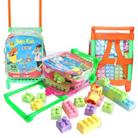 Mainan Edukasi Anak Building Block Yoyo Kids Isi 50 Pcs Trolley