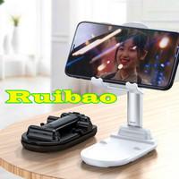 Holder Handphone Lipat Universal Folding Stand Dudukan HP Portable A