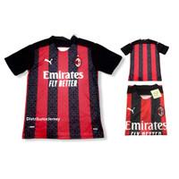 Jersey Bola Milan Home 2021 Grade ori - S