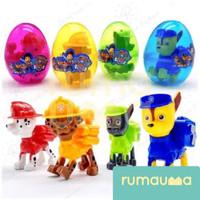 RUMAUMA 1 Box 12 PCS Mainan Telur Egg Suprise Paw Patrol Lucu Unik