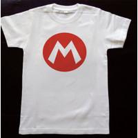 Kaos Baju anak logo Super mario
