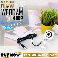 Webcam 480P 360 Degree Laptop PC for Video Conference Zoom Skype Q360