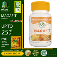 MAGAFIT | HERBAL | HPAI | 50 Kapsul