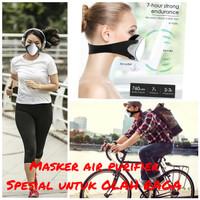 masker KN95 elektrik masker airshark for sport