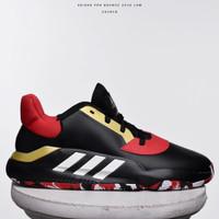 Sepatu Basket Adidas Pro Bounce Low Black Red EG2818 Original 100%