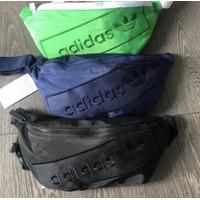 Waistbag Adidas import tas selempang pria & wanita branded waist bag