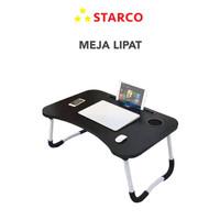 Starco Meja Belajar Lipat Laptop Serbaguna /Meja Belajar/Meja laptop -