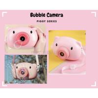 Mainan bubble camera gelembung musik high quality (free sabun)
