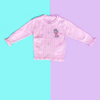 Baju Sweater Rajut Cardigan Atasan Anak Perempuan Import Real Pic No 8