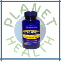 Puritan Pride Suplemen Vitamin Super Snooze with Melatonin 100 Capsule