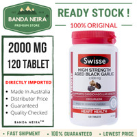 Swisse High Strength Aged Black Garlic 120 Tablet 2000 Mg