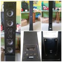 Speaker Tower Koda Ip801 Hi-Fi Docking Station