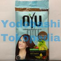 NYU Creme Hair Colour Caramel (NYU Pewarna Rambut Semir Rambut)