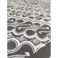 Kain Batik Puspa Kencana - Motif Parang - Warna Abu-abu