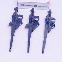 [DABAN+BANDAI] MG Unicorn Gundam Rifle 3pcs Set