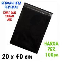 Kantong Plastik Lem Polymailer Ukuran 20x40 cm 100 Pcs
