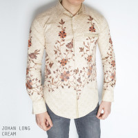 Johan Longa Man Standar - Kemeja Batik Pria Lengan Panjang