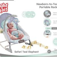 Bouncer Right Start Newborn To Toddler Portable Rocker / Bouncer Bayi