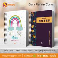 CETAK DIARY PLANNER CUSTOM | Notebook Custom Hardcover | Buku Planner