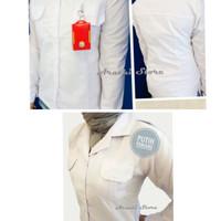 Seragam Putih PNS Kemeja Putih Wanita PDH Putih Baju PDL PNS Baju PNS