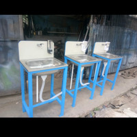wastafel tempat cuci tangan portable