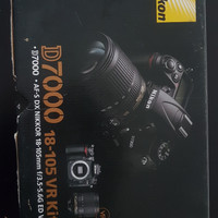 Camera DSLR Merk Nikon D7000+Lensa Nikon 18-105mm Barang Mulus
