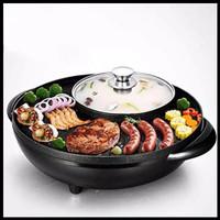 Panci Hotpot BBQ 2IN1 - Panci Shabu-Shabu - Panci Suki Grill
