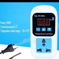Thermostat EU US Plug colokan Digital Pengatur Suhu kandang Inkubator