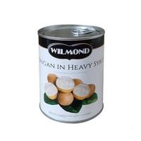 Wilmond Longan In Heavy Syrup 565 gr / Buah Lengkeng Kaleng