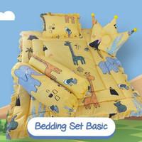 set bed cover bayi motif luchu