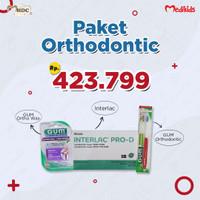 Paket Orthodontic Interlac + Gum Orthodontic Brush + Gum Otho wax