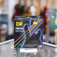 Dr String Neon Multi Color MNCB4 - Senar Bass Elektrik 40-100 -4string