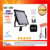 PAKET stand Lampu LED Vlog GVM GVM-480LS-B LED Light 480 LED Bi-color