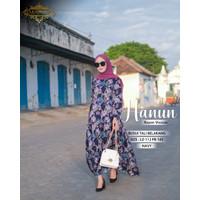 Gamis Susun Klok Busui / Homey Dress Busui Rayon Viscose Hanun XL