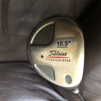 stick golf driver Titleist Titanium 975D shaft S Made in USA ori