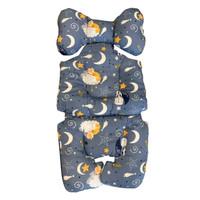Paopao - Stroller Liner SLEEPING BEAR BLUE