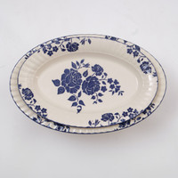 PERO SERVING OVAL PLATE SET OF 2 - ROSSA